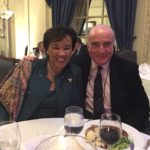 Secretary General of Commonwealth with Richard Moir